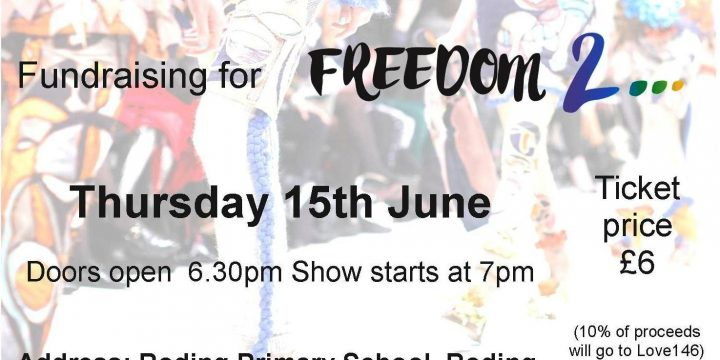 Upcoming Event: Fashion Show for FREEDOM 2